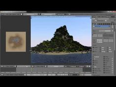 Creating an Island Environment in Blender - part 01 - YouTube