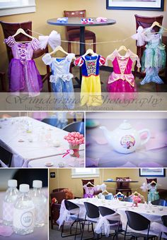 my 5yr old's princess tea party themed birthday party <3 www.facebook.com/WunderkindPhotographyByStefanieAdamsFigueroa