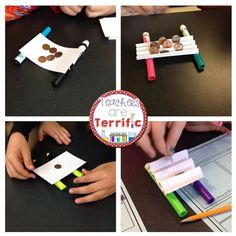 Bridge Time! Use one supply and build a platform bridge. Kids will test different formations before building. Includes teacher directions, helpful hints, and extension activities! #STEM #TpT #bridges