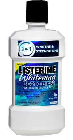 A must! Can't live without my Sonicare toothbrush and Listerine whitening pre-wash.