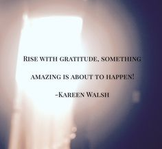 with each day and be amazed at what happens. Gratitude, Cards Against Humanity, Thoughts, Shit Happens, Day, Amazing, Quotes, Quotations, Grateful Heart