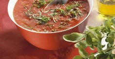 Tomatensuppe nach italienischer Art ist ein Rezept mit frischen Zutaten aus der Kategorie Fruchtgemüse. Probieren Sie dieses und weitere Rezepte von EAT SMARTER!