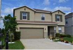The Four Corners Orlando Vacation Rental is big enough for the whole family to stay, located in the Davenport area of Florida Orlando Vacation, Orlando Florida, Florida Villas, Four Corners, Walt Disney World, My Dream Home, The Hamptons, Master Bedroom, Mansions