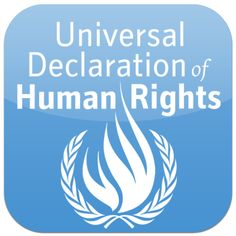 A simplified version of the Universal Declaration of Human Rights United Nations Human Rights, Declaration Of Human Rights, Human Rights Day, Sinclair Lewis, Consumerism, Best Apps, People Of The World, Social Justice, Canon