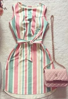 Uploaded by Ãsôsh ❀. Find images and videos about fashion, dresses and فساتين on We Heart It - the app to get lost in what you love. Cute Casual Outfits, Girly Outfits, Pretty Outfits, Pretty Dresses, Stylish Outfits, Casual Dresses, Short Outfits, Casual Chic, Summer Outfits
