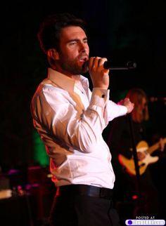Adam freakin' Levine! When I saw him in concert, I screamed like a teenage girl.