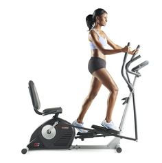 Hybrid Personal Trainer Cardio Exercise Bike 14 Workout Apps Elliptical Home Gym Workout Machines, Elliptical Machines, Weight Loss Tablets, Elliptical Trainer, Best Weight Loss Foods, Yoga For Weight Loss, Losing Weight, Fitness Magazine, No Equipment Workout