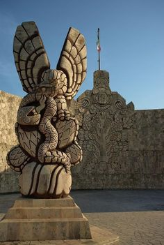 The Maya were an ancient civilization of southern Mexico and the Central American countries of Guatemala, Honduras Belize and El Salvador. ~ Paseo de Montejo in Merida, Mexico