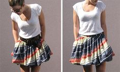 DIY bubble skirt.