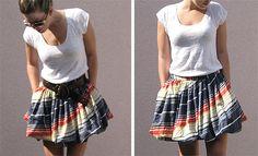DIY bubble skirt.