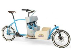 Customizable Cargo Bikes : Compact Cargo Bike