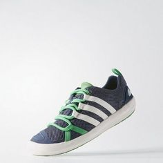 994865e42d5 ADIDAS OUTDOORS  Climacool Boat Lace Shoes MIDGREEN