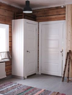 kapp, kapp diy tee ise, kapp, taaskasutus, vana uks – English Home Knotty Pine Decor, Cabin Interiors, Cottage Design, Retro Home, My Dream Home, House, Home Decor, Decoration, Ideas