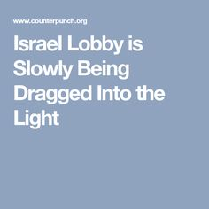 Image result for israel lobby is a monster