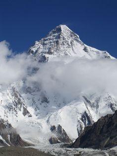 K2 mountain eight thousander