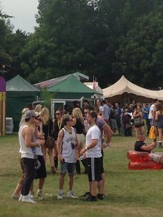 Niall at V Festival today
