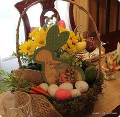 DIY Easter : DIY  Easter Tablescape