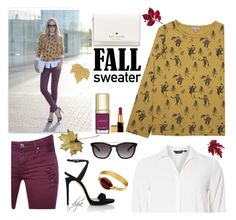 """""""Fall sweater"""" by dgia ❤ liked on Polyvore featuring Emile et Ida, Dorothy Perkins, IRO, Giuseppe Zanotti, Valentino, Dolce&Gabbana, Dyrberg/Kern, Kate Spade and Tom Ford"""