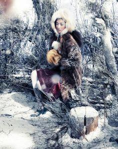 Choi A Ra by Tae Woo for Vogue Girl Korea January 2012
