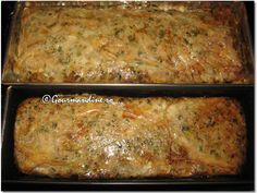 Drob de miel Romanian Food, Tasty, Yummy Food, Lamb Recipes, Lasagna, Banana Bread, Bakery, Sweets, Cooking
