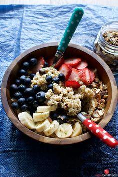 Quinoa Breakfast Bowls Recipe on Yummly