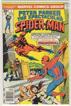 Title: Spectacular Spider-Man (Peter Parker) | Year: 1976 | Publisher: Marvel | Number: 1 | Print: 1 | Type: Regular | TitleId: 5d40f9ff-adb2-4cbd-8b93-352766854c89