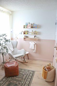 The Nursery Reveal - Baby Girl E's New Room - Kristina Lynne Nursery Room, Girl Nursery, Girls Bedroom, Baby Room, Bedrooms, Nursery Inspiration, Interior Inspiration, Nursery Ideas, Small Nurseries