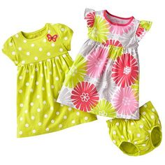 -dresses with little matching bloomer