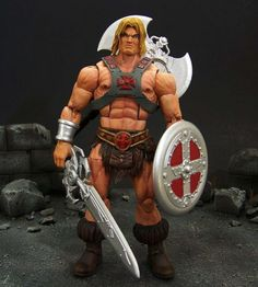 He-Man (Masters of the Universe) Custom Action Figure