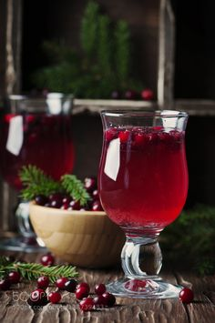 Fresh red cranberry juice on the vintage table by OxanaDenezhkina  IFTTT 500px cool background berry beverage closeup cocktail cranberry drink food fresh fruit glass
