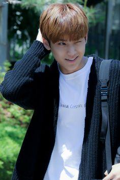 He looks like a real life anime boy. Pure perfection.