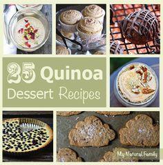 25 Quinoa Dessert Recipes (Gluten Free) – Who Knew Quinoa Could Taste This Good?