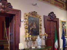 """#AntonioFantoni (Bologna, prima metà del XVI secolo), """"Sacra Famiglia con San Giovannino"""", olio su tavola, cm 100 x 83, #PinacotecaCivica #AscoliPiceno #Marche #Italy"""