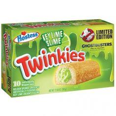 Hostess Twinkies Key Lime Slime Ghostbusters 10er