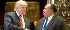 Donald Trump And Martin Luther King Jr.'s Son Just Met. What They Talked About.