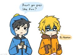 """Read (Rudy X Karen) from the story South Park picture/comic's by CupidLoser with reads. I ship them but im not really sure what """"Rud. South Park Funny, Kenny South Park, South Park Memes, Creek South Park, South Park Anime, South Park Fanart, Park Pictures, Cute Pictures, Arte Yin Yang"""