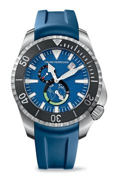 """Girard-Perregaux Sea Hawk II """"Big Blue"""" LimitedEdition Watch"""