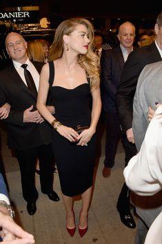 "Amber Heard in Victoria Beckham collection - 2015 Toronto International Film Festival - ""Black Mass"" Premiere - September 14, 2015"