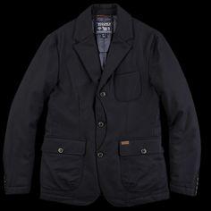 UNIONMADE - Woolrich John Rich & Bros. - Oakman Upland Blazer in Navy