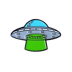 UFO Enamel Pin – Sugar & Vice