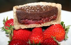I had so much fun creating recipes for Book 3  in my Cookbook series - Pies and Tarts.  This one is Roasted Strawberry Chocolate Linzer Tart - so delicious! You can find more info here | urbnspice.com