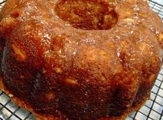 Fresh Apple Bundt Cake - 1st place at the state fair