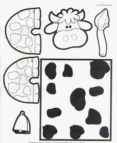 learningenglish-esl: TOILET PAPER ROLL COW CRAFT
