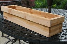 For less than $20 in supplies and minimal tools you can build a window box planter in just under 1 hour.