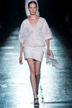 Prabal Gurung Spring 2015 Ready-to-Wear Fashion Show - Alisa Ahmann