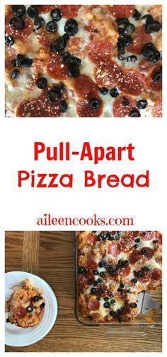 Pull Apart Pepperoni