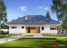 E-154 - E-DOMY.pl Projekty domów jednorodzinnych, piętrowych, energooszczędnych.