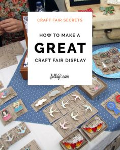 Craft Fair Secrets How To Make A Great Display