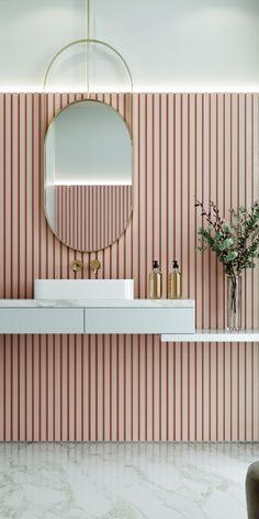 Decorative Wall Panels, 3d Wall Panels, Wall Panel Design, 3d Wandplatten, Wood Slat Wall, Wood Panel Walls, Orac Decor, Bathroom Wall Panels, Plafond Design