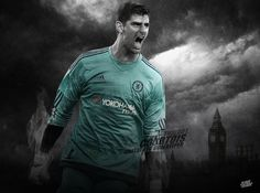 Thibaut Courtois The Lions Shed Chelsea Fc Chelsea Football